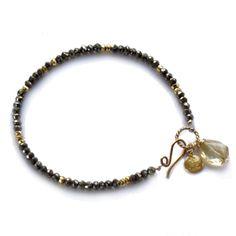 Gem Beaded Bracelet | Julie Tuton Jewelry