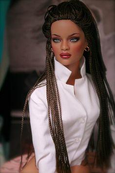 FEATURE: 'Black Doll Life', a web page celebrating Black dolls African Dolls, African American Dolls, Beautiful Barbie Dolls, Pretty Dolls, Barbie Hair, Barbie Clothes, Barbies Dolls, Dolls Dolls, Barbie Style