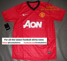 this seems to be the rumored new Manchester United Home Shirt for 2012/13 season... which means it will be on my xmas list