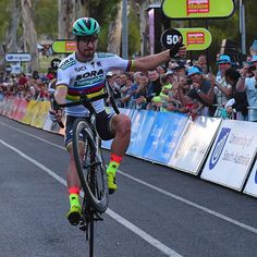 Peter Sagan wins People Choice Classic TDU2018 Foto @dariobelingheri @bettiniphoto