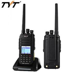 TYT Tytera MD-390 DMR Mobile Radio Digital Handheld Transceiver IP67 1000 Channels UHF400-480MHz With GPS Vox Walkie Talkie Digital Radio, Walkie Talkie, Talk To Me, Car Accessories, Channel, Products, Auto Accessories, Beauty Products, Gadget