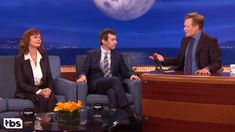 Nathan Fielder Brings Susan Sarandon to 'Conan' As a Backup Guest In Case His Interview Goes Bad