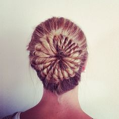 I did this on my hair - it took a whole 20 minutes and my arms were sore by the end, but it really was worth it!