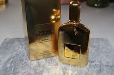 Tom Ford New Black Orchid Parfum Review - ReallyRee Tom Ford Black Orchid, Tom Ford Beauty, Ford News, Orchids, Swatch, Toms, Perfume Bottles, Perfume Bottle, Orchid