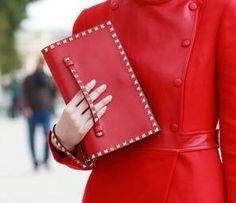 she loves her red........