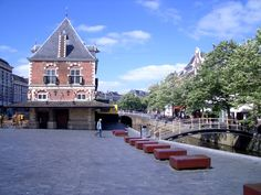 Leeuwarden, city centre.The capital of Friesland, Holland