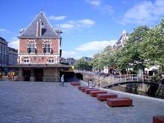 Leeuwarden, city centre.The capital of Friesland, Holland