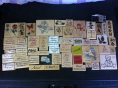 $2.99 for 56 rubber stamps. Most with the prices still on. From $1.25-$16.99 each. Total original price was between $300-$350. Found at Goidwill