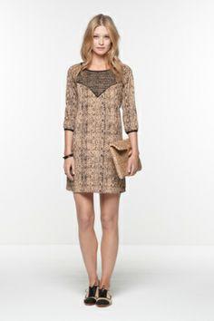 Printed dress by Maison Scotch - $115