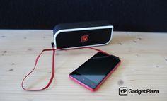 Mobiler Speaker und Akku-Ladegerät in einem http://gadgetplaza.ch/zubehoer/9578/raikko-touch-evolution