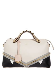 a1cf4a5ea9 FENDI SMALL BY THE WAY BUGS LEATHER BAG.  fendi  bags  shoulder bags  hand  bags  leather