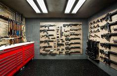 Custom Gun Room Design | Weapon Vault Rooms | Armory Builds | Gallow Technologies