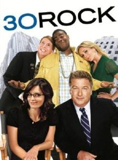 30 Rock poster Metal Sign Wall Art 8in x 12in