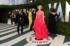 I can't even concentrate on Claire Danes because I am already in love with that yellow dress in the background!!