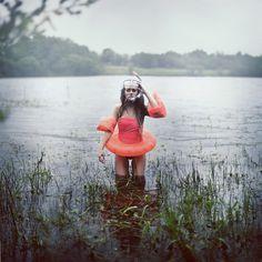 Rosie Hardy - Main Gallery. Swimmer in distress.