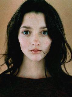 Audrey Marnay by Jean-Baptiste Mondino for Jalouse June 1998.