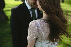 Jenny Packham Eden wedding dress // Wedding photography by Emilie White