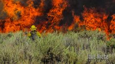 Colorado Photographer-Firefighter Jake Niece Captures Stunning Photos of Chaotic Wildfires - weather.com