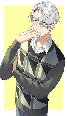 Viktor con gafas es muuy sexy
