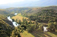 Zrmanja river near Muskovci, Croatia