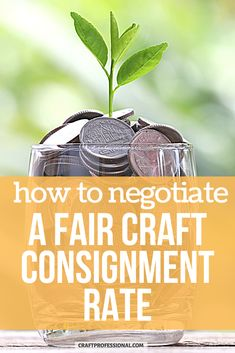 Before you start selling crafts on consignment, learn about standard consignment terms, like how much you should earn, so you can negotiate a fair agreement with the retailer. #sellcrafts #craftprofessional Selling Crafts Online, Craft Online, Craft Business, Creative Business, Business Ideas, Retail Customer, Where To Sell, Vendor Events, Small Business Marketing