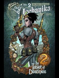 Couverture de Lady Mechanika: The Tablet of Destinies (2015) -2A- Chapter two
