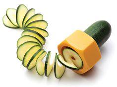Cucumbo Spiral Slicer / Design Boom - Oh, I like this one!