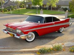 Plymouth Fury, I shall own one, and I shall name her Christine