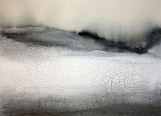 Frozen, 2012.  Mixed media painting by Jonas Petterson