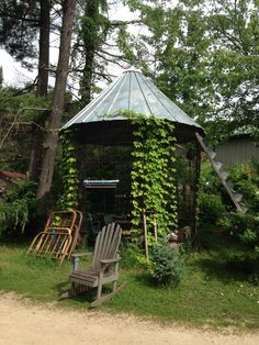 Repurposed Corn Crib