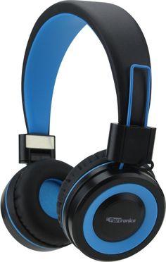 6e960c66f5d Portronics POR-011 Muffs G Bluetooth 4.2 Stereo (Blue) Bluetooth Headset  with Mic