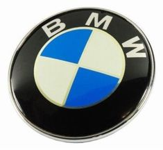 Exdiag Bmw Roundel 2-Pins Emblem Logo For Front Hood And Rear Trunk 82Mm