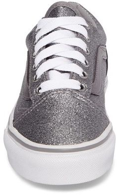 Girl's Vans Old Skool Glitter Sneaker #ad #shoes #fashion #clothing