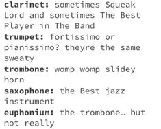 Band Geek Humor, Band Jokes, Band Nerd, Music Jokes, Funny Music, Music Humor, Music Things, Music Stuff, Band Problems