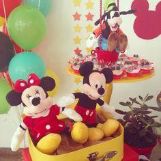 Festa Turma do Mickey - decoração mini mimo festas