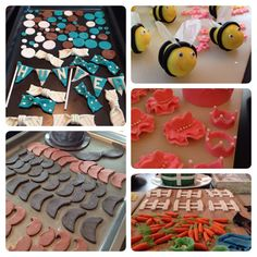 Lots of cupcake toppers