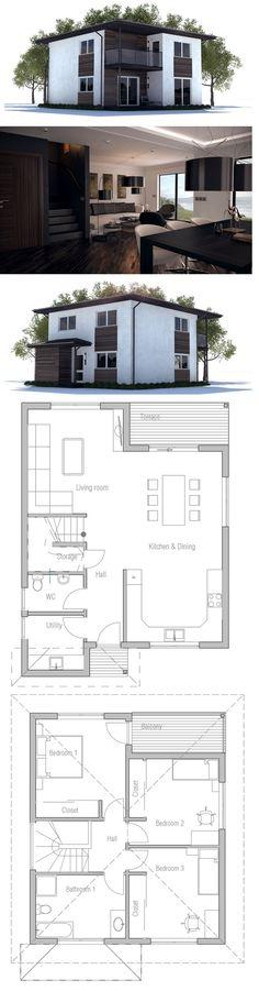 House Plan to Small Lot Vivir PA Pinterest House