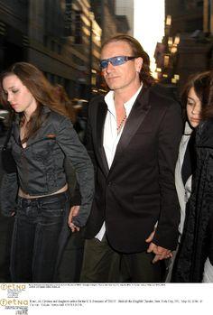 Bono, Jordan and Eve Hewson