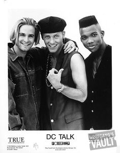 "D.C. Talk Promo Print  : 8x10 RC Print -- From the ""free at Last"" tour, which I caught in Atlanta"