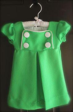 DIY Retro Kids Dress - FREE Sewing Pattern and Tutorial