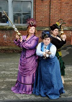 2010 Feb Georgetown; adventurous gals It always starts me when I find a photo of myself on Pinterest, but here we are: Ms Cherries, The Countess and Miss Sugar!