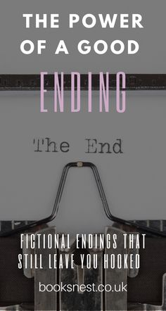 This blog title probably sounds a lot more tragic than the post will be. But recently I've been thinking about endings. The end of a book series we've loved, the end of a TV show that has been running for years, the end of living in a certain space, the end of a job… there are so many types of endings we face on a day to day basis. And sometimes we just refuse to let them end and turn the other cheek.