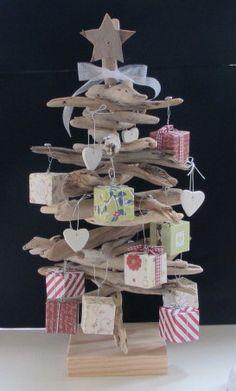 Driftwood Christmas Tree, cute for kids