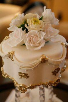 Beautiful designer couture royal mini cake