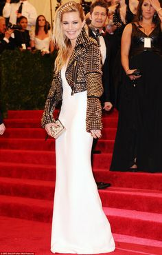 Folkster LOVES Sienna Miller at the MET Gala Ball 2013 - simplistic rock amazingness!