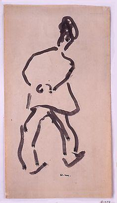 Man Strolling Albert Marquet