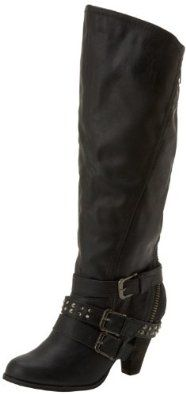 Not Rated Women's Market Place Knee-High Boot,Black,10 M US Not Rated. $59.96