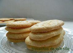 las recetas de mi abuela: BIZCOCHOS DE SOLETILLA
