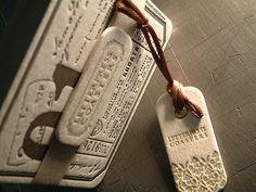 a letterpress coaster