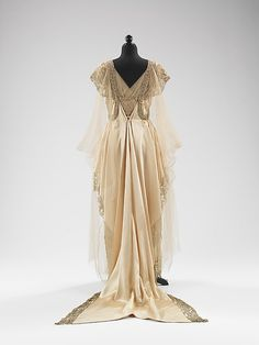 Dress, Evening  Callot Soeurs  (French, active 1895–1937)    Designer:      Madame Marie Gerber (French)  Date:      fall/winter 1915–16